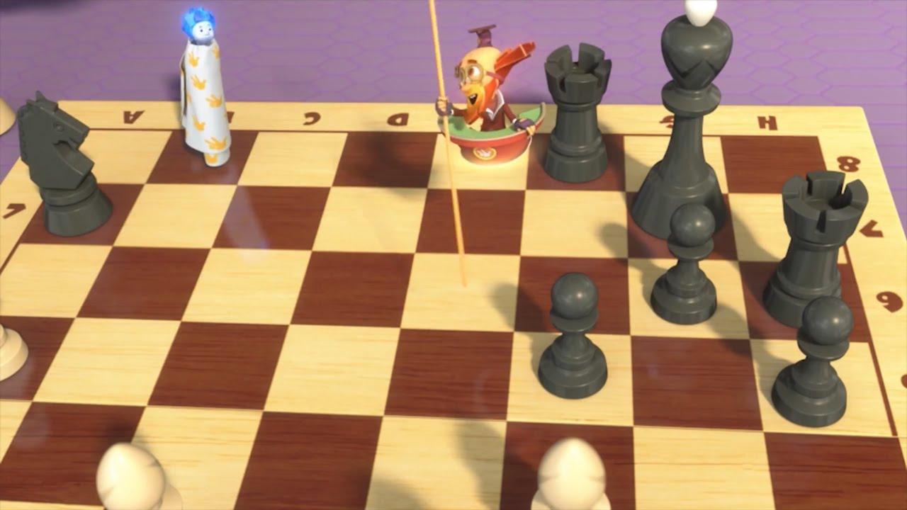 15 Серия. Фиксики — Шахматы