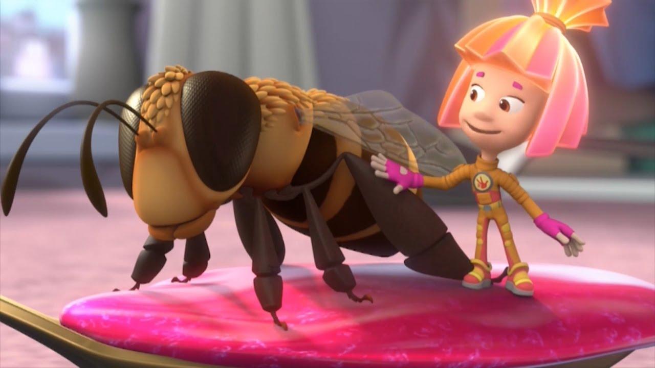 20 Серия. Фиксики — Пчела