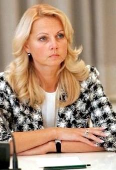 Татьяна Голикова, биография, новости, фото - узнай вce!
