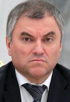 Вячеслав Володин, биография, новости, фото - узнай вce!